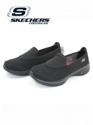 Skechers Black Go Walk 4 Shoe for Women