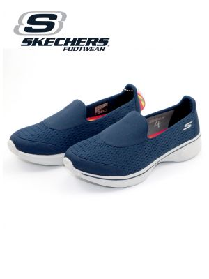 Skechers Navy/Grey Go Walk 4 Shoe for Women