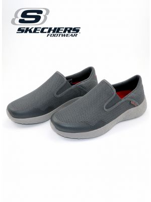 Skechers Charcoal Burst Men Sport Shoe for Men
