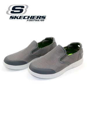 Skechers Charcoal On-The-Go Glide Shoe for Men