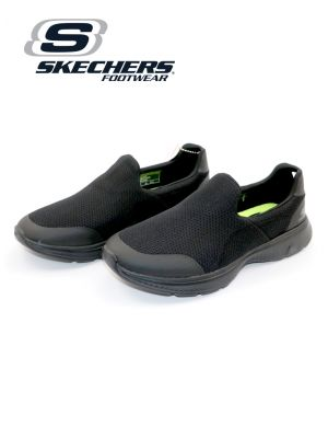 Skechers Black Go Walk 4 Shoe for Men