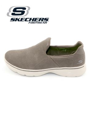 Skechers Khaki Go Walk 4 Shoe for Men