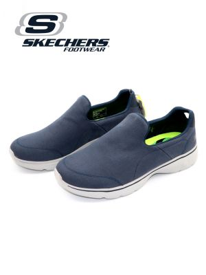 Skechers Navy/Grey Go Walk 4 Shoe for Men